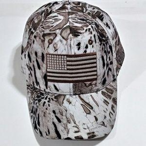 Camo American Flag Hat